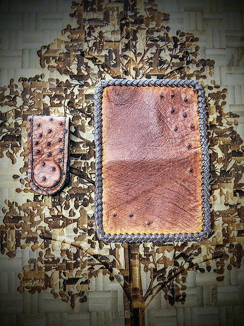 Ostrich Wallet & Money Clip Combo