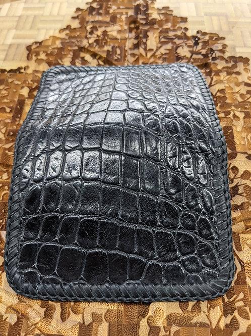 Black Alligator 4 Pocket Wallet