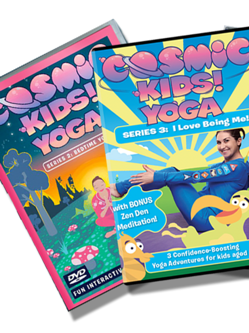 Cosmic Kids Yoga DVD Double Bundle. Choose any two DVDs.