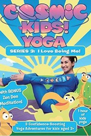 Cosmic Kids Yoga DVD Series 3