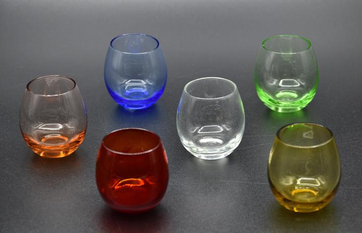 Bicchierini da amaro arrotondati