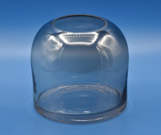 Vaso cilindrico, apertura arrotondata