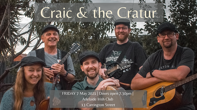 Craic and the Cratur May FB Event.png
