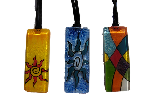 Handcrafted Glass Necklace