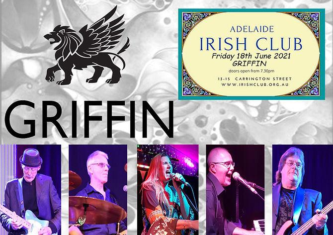 Griffin Poster - Adelaide Irish Club 1B