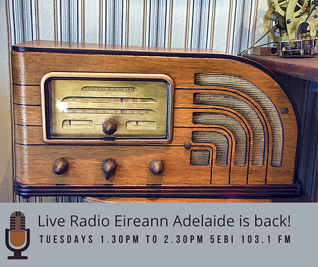 Live Radio Eireann Adelaide is back! (1)