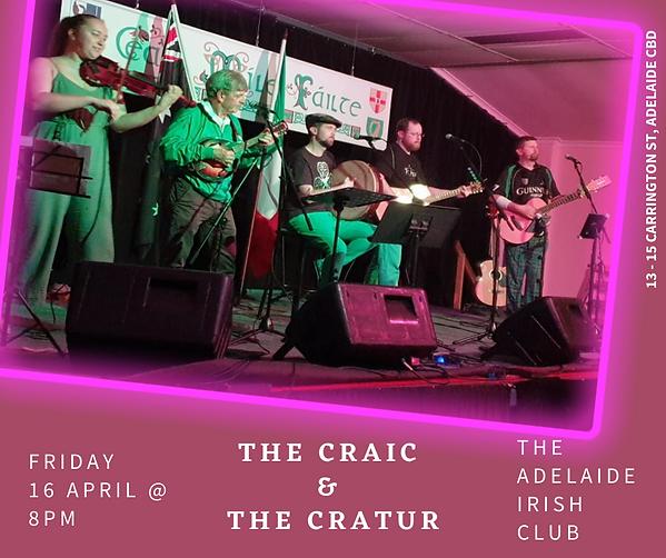 Craic and the Cratur April.png