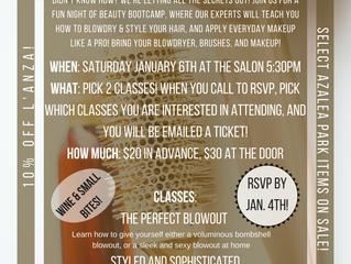 Beauty Bootcamp!