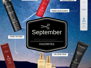 September L'ANZA Favorites!