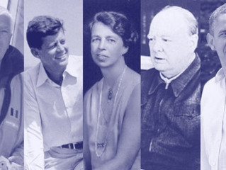 Five inspiring quotes by five remarkable people.