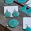 Thumbnail: Earrings - Unique pattern round