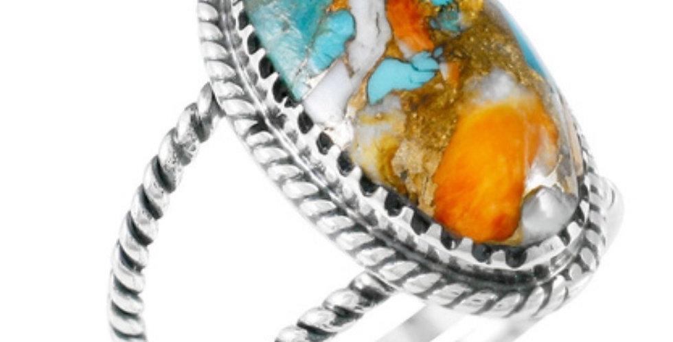 Ring - Multi Matrix in Sterling Silver