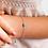 Thumbnail: Bracelet - Evil Eye Turquoise in Sterling Silver & Rose Gold