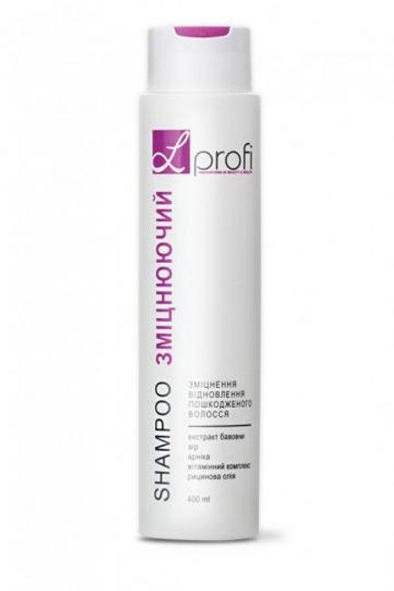 """Шампунь """"Укрепляющий"""" для укрепления и восстановления волос, 400мл Lpofi"""