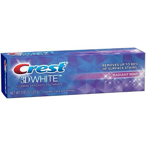 Отбеливающая зубная паста Crest 3D White Radiant mint 136g.