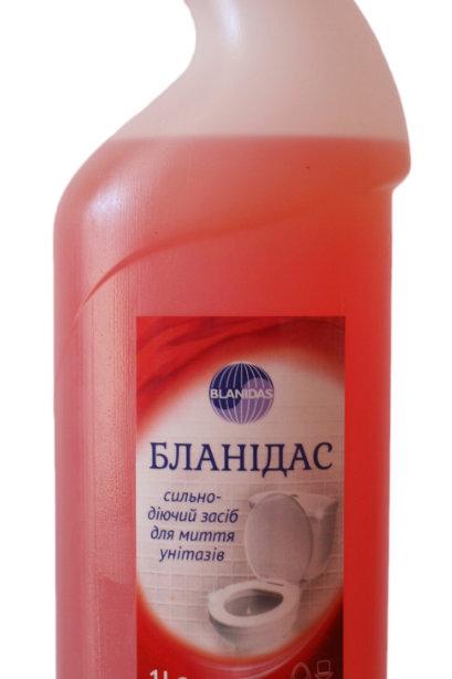 Для чистки унитазов и писсуаров, 1л