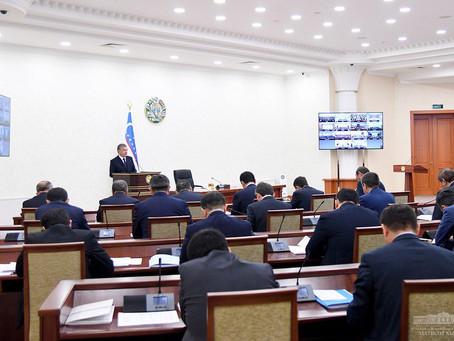PresidentShavkat Mirziyoyev on Coronavirus