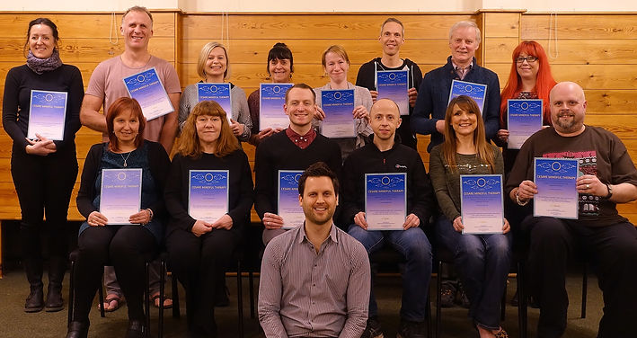 Cesare Saguato Mindful Therapy Eight Week Mindfulness Course Graduates