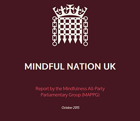 Cesare Saguato Counsellor, Psychotherapist, Mindfulness Teacher, Clinical Supervisor, Medway, Kent, UK Mindful Nation UK Report 2015