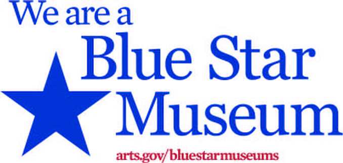 We are a Blue Star Museum with blue star