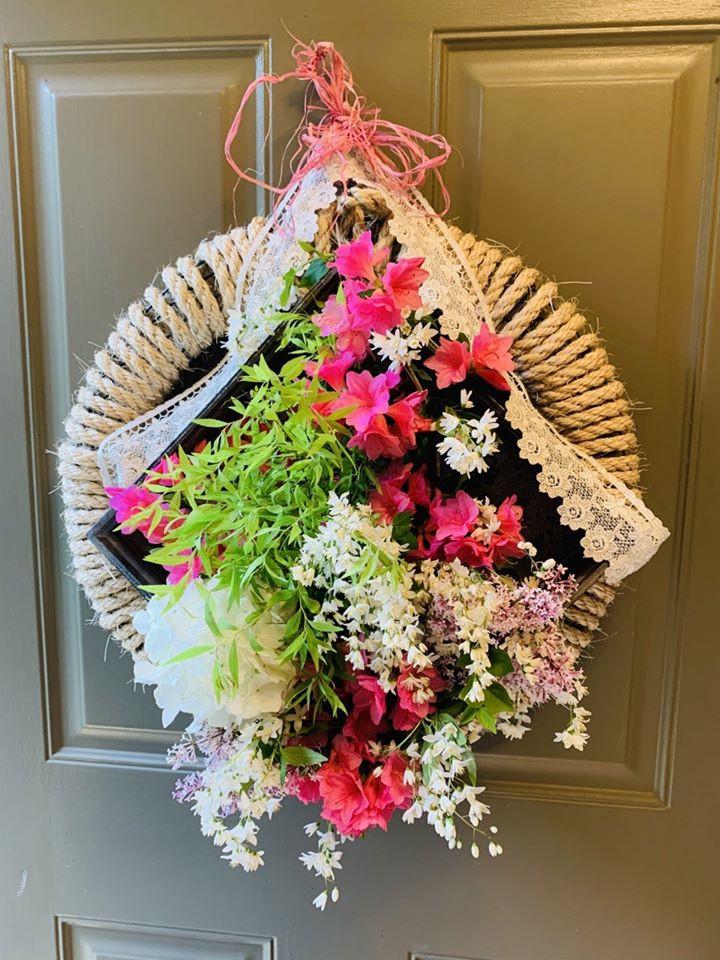 May Basket on Door
