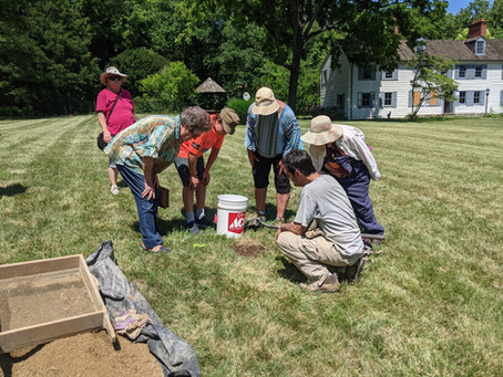 Update on Archaeology at Gresham Estate