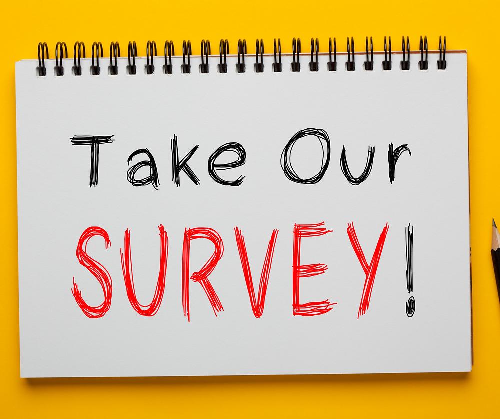 Says Take our Survey
