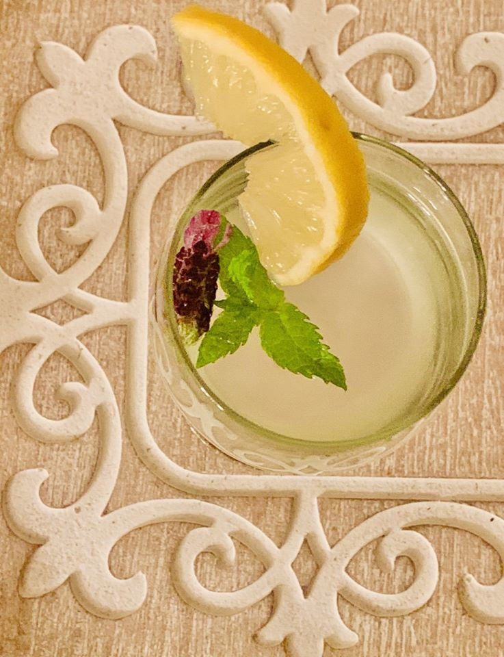 Mentha, Lavendula and Lime- best Agua fresca!
