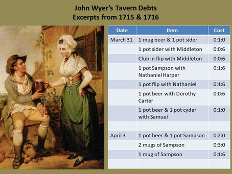 Tavern Tales: Paying Your Debts