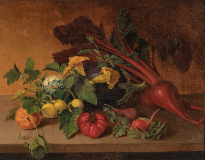 Vegetables with Yellow Blossoms