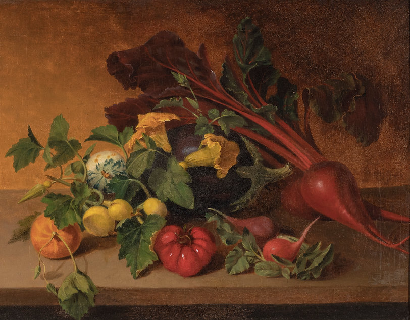 Vegetables with Yellow Blossoms, James P