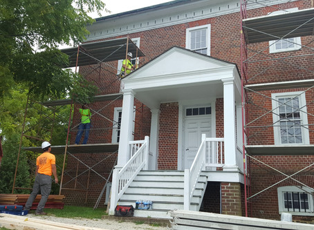 William Brown House - Preservation Project Starts!