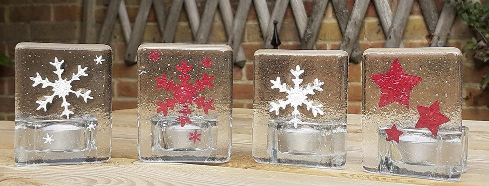 Snowflake/Star Candle Panel