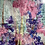 Thumbnail: Pink Fan Flowers and Blue Delphiniums - Mulberry Silk