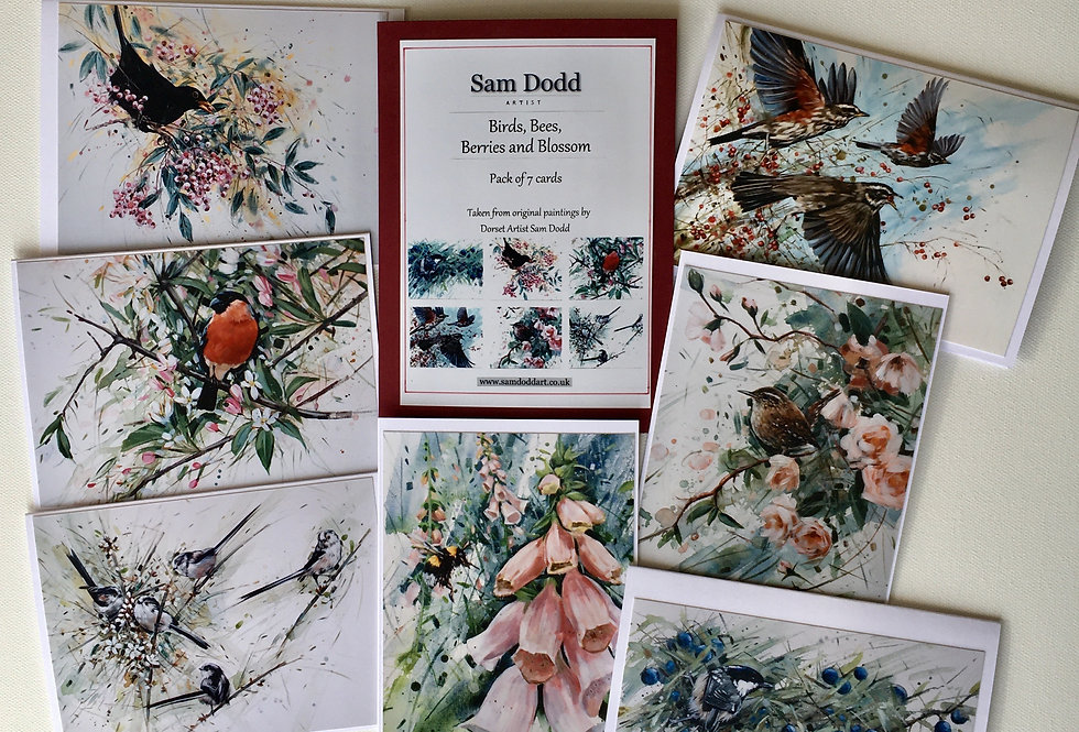 Sam Dodd - Birds, Bees, Berries and Blossom