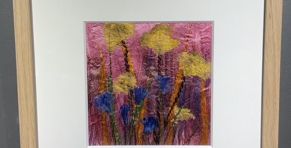 Medium Square Silk Flowers
