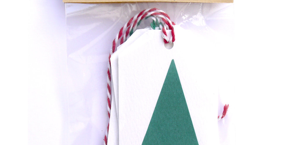 Festive Gift Tags (Pack of 4)