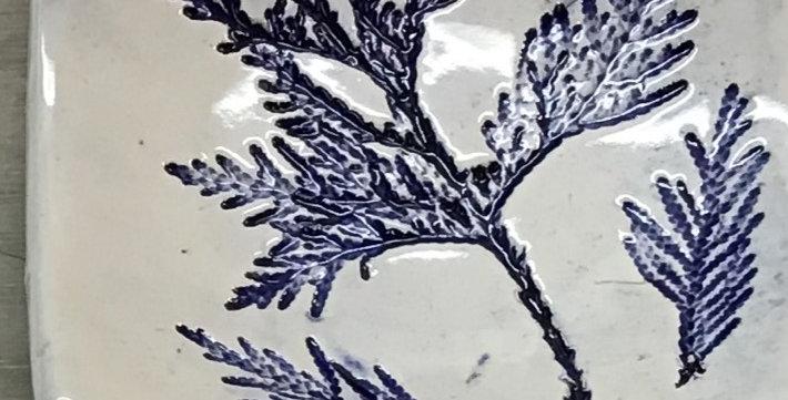 Earthenware Tile Dish