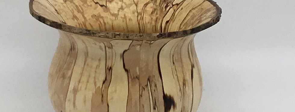 Spalted Hazel Form