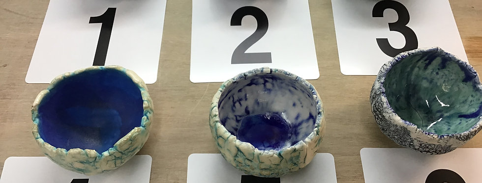 Small Pinched Bowl