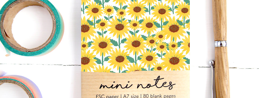 Mini Notes A7 Notepad
