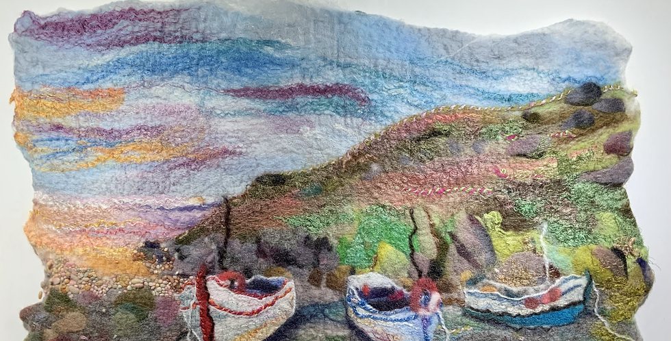 Boats at Penberth