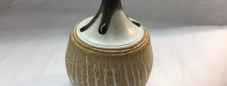Small Crackle Glaze Pot