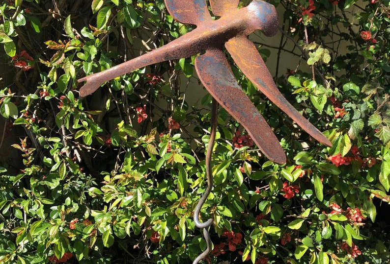 Garden Stakes - Large Dragonfly