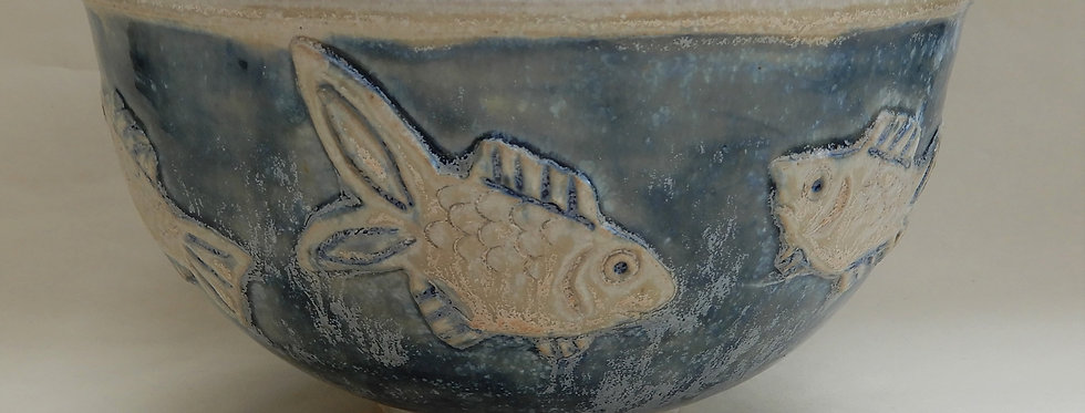 Small Fish Serving Bowl