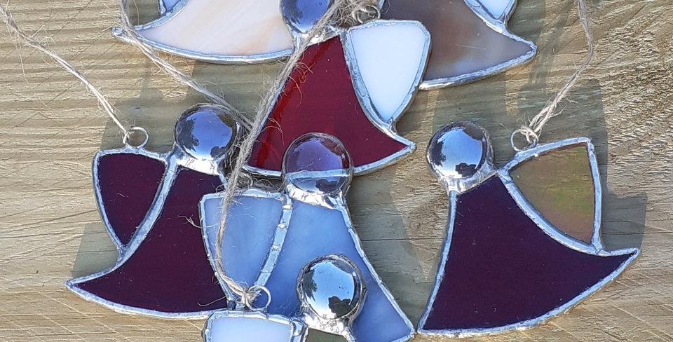 Glass Cherubs