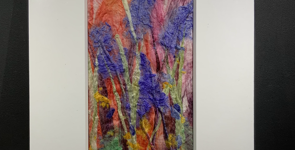Purple Flower Spikes (Unframed)
