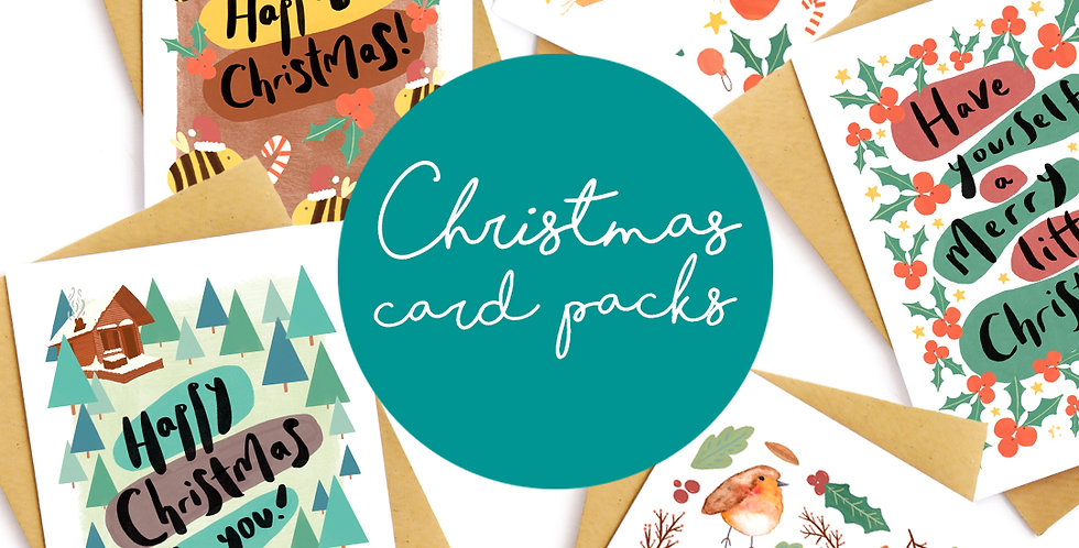 Christmas Card (Packs)