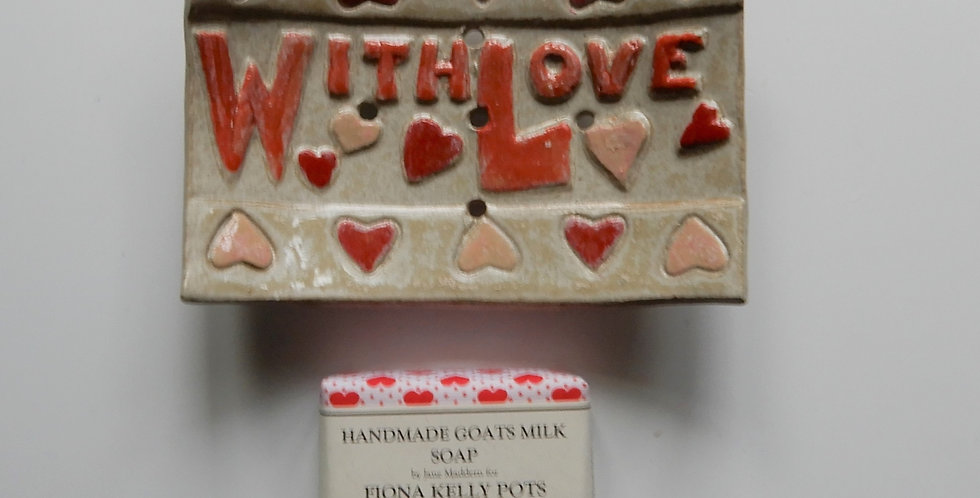 With Love Soap Dish