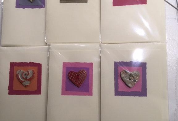 Ceramic Button Cards